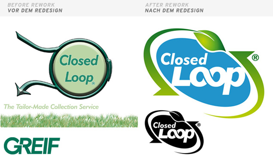 Closed Loop / Logo rework