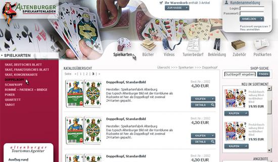 Spielkarten Altenburg