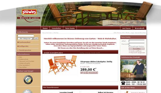 Stüwes Garten und Wohnkultur