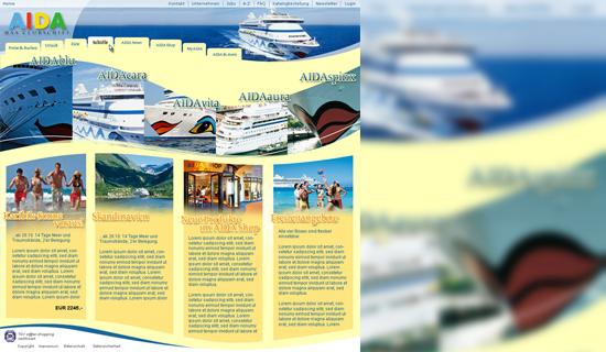 Schröder Media - Webdesign Leipzig : Aida Cruises