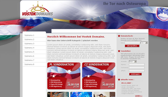 Vostok Domains
