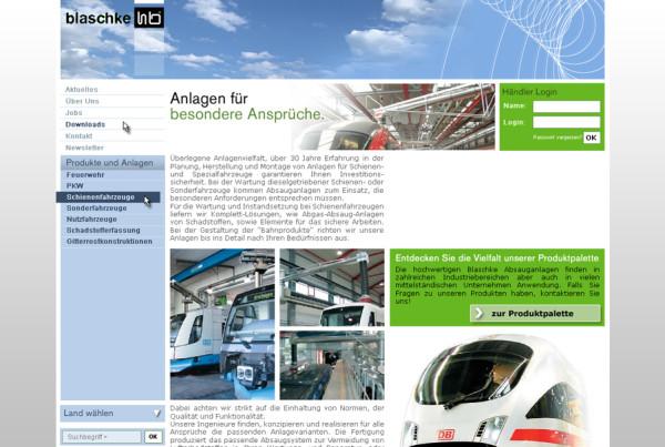 Schröder Media - Webdesign Leipzig : Blaschke Umwelttechnik