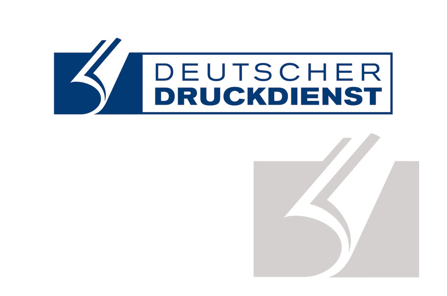 Schröder Media - Logodesign Leipzig : Deutscher Druckdienst