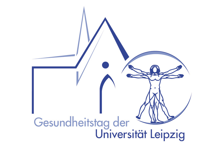 Schröder Media - Logodesign Leipzig : Gesundheitstag Uni Leipzig Universität Leipzig Logodesign