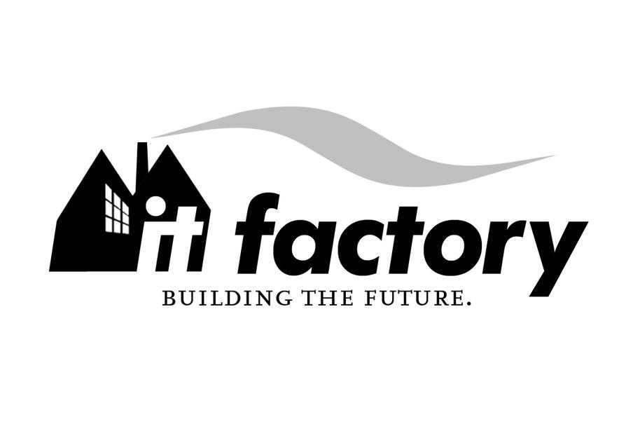 Schröder Media - Logodesign Leipzig : IT Factory Logodesign