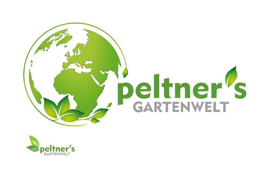 Schröder Media - Logodesign Leipzig : Peltner Gartenwelt Logodesign Gartenarchitektur