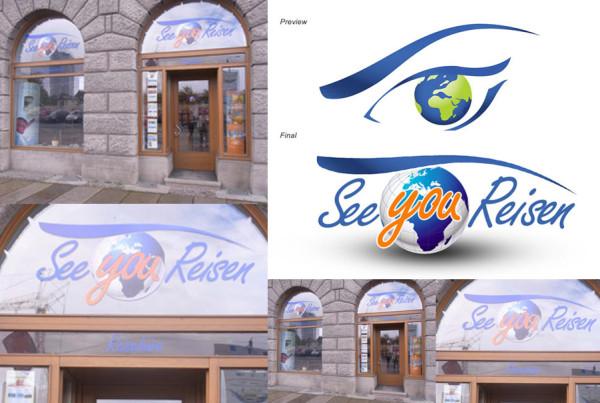 Schröder Media - Logodesign Leipzig : SeeYou Reisen Logodesign