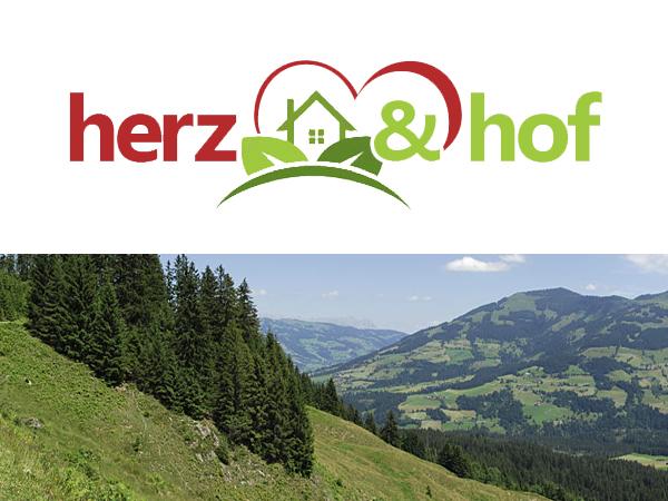 Herz & Hof Logodesign / Bauernhof / nachhaltige Ökolandwirtschaft