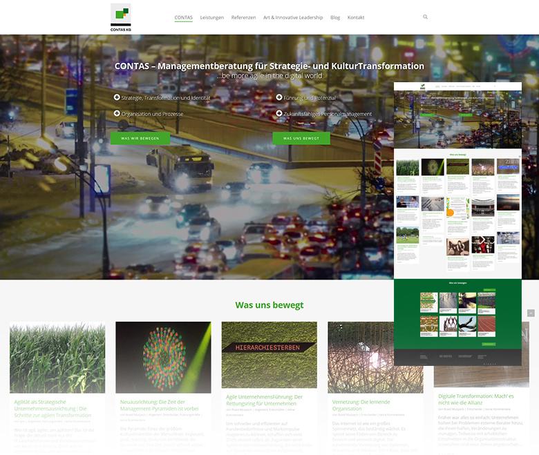 Contas KG – Managementberatung Leipzig Webdesign