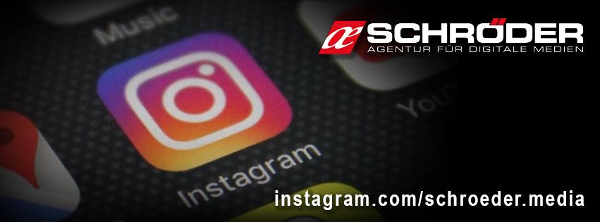 Schröder Media mit neuem Profil auf Instagram