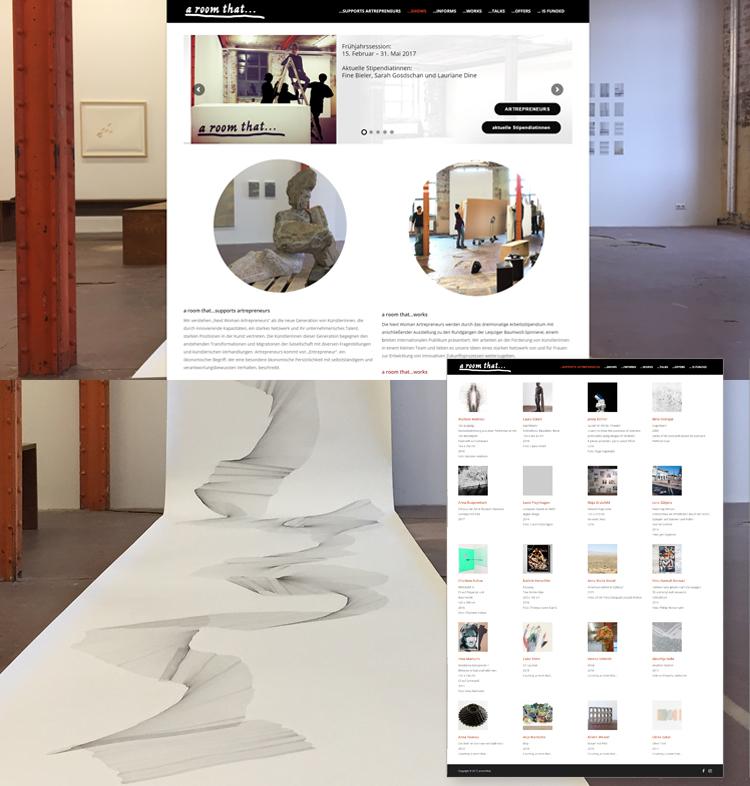 a room that – Kunstgalerie Spinnerei Leipzig – Webdesign