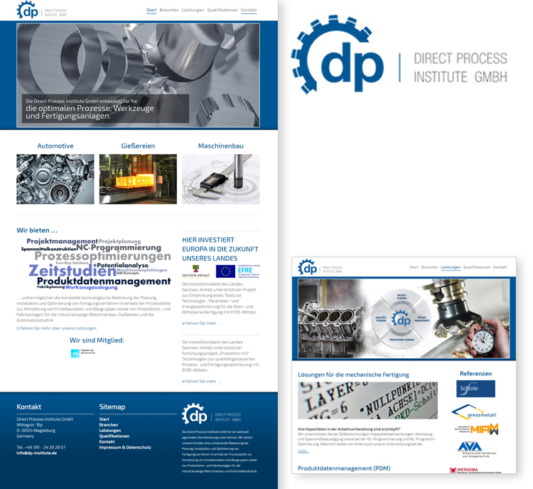 Direct Process Institute GmbH – Magdeburg – Webdesign