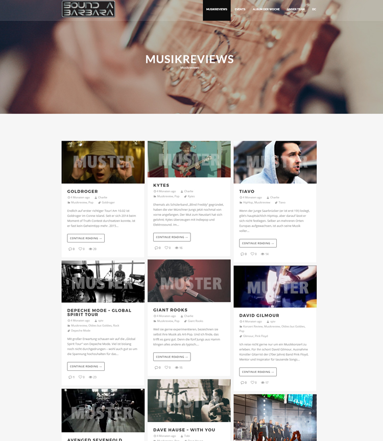 Soundabarbara – Musikplatform