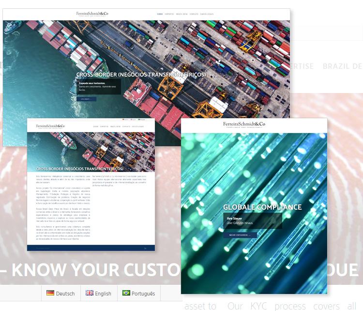 Ferreira Schmidt & Co – Corporate Compliance – Webdesign Leipzig