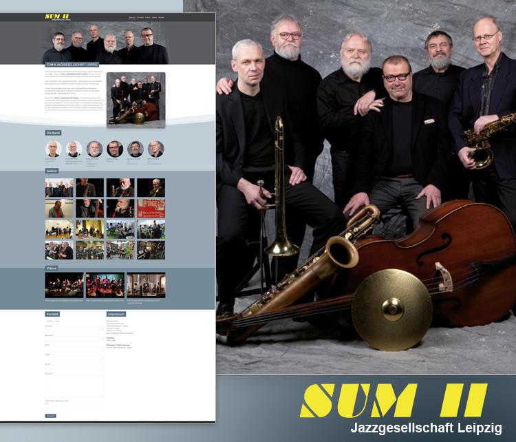 SUMII Jazzgesellschaft Leipzig – SUM 2 – Jazzmusik Leipzig – Webdesign