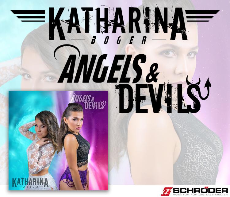 Katharina Boger – Angels and Devils – Logodesign